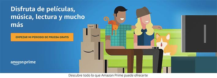 Ventajas de ser usuario/a Prime de Amazon